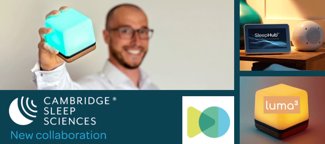 cambridge sleep sciences collaboration with wellbeing tech business Mind Body Goals